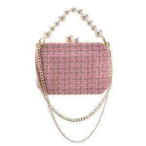 Bolsa-Clutch-Tweed-Perolas-rosa